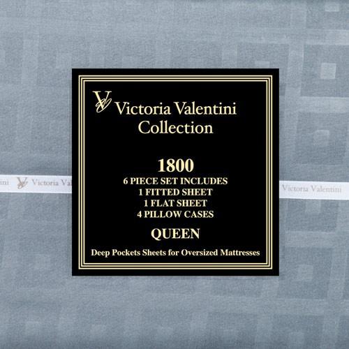 VICTORIA VALENTINI 1800 SERIES DESIGNER QUALITY SHEET SET