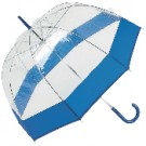 "ALL-WEATHER 42"" CLEAR DOME UMBRELLA"