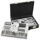 72PC. HEAVY GAUGE STAINLESS STEEL FLATWARE & HOSTESS SET
