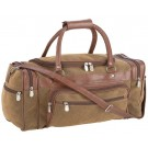 "TRAVEL GEAR FAUX LEATHER 23"" TOTE BAG"