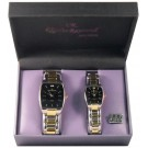 """CHARLES RAYMOND"" MR. AND MRS. WATCH SET"