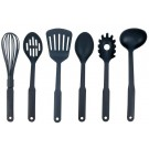 6PC. NYLON KITCHEN TOOL UTENSIL SET