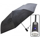 "42"" UMBRELLA WITH BUILT-IN LED FLASHLIGHT"